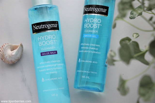 Neutrogena Hydro boost gelee milk cleanser review