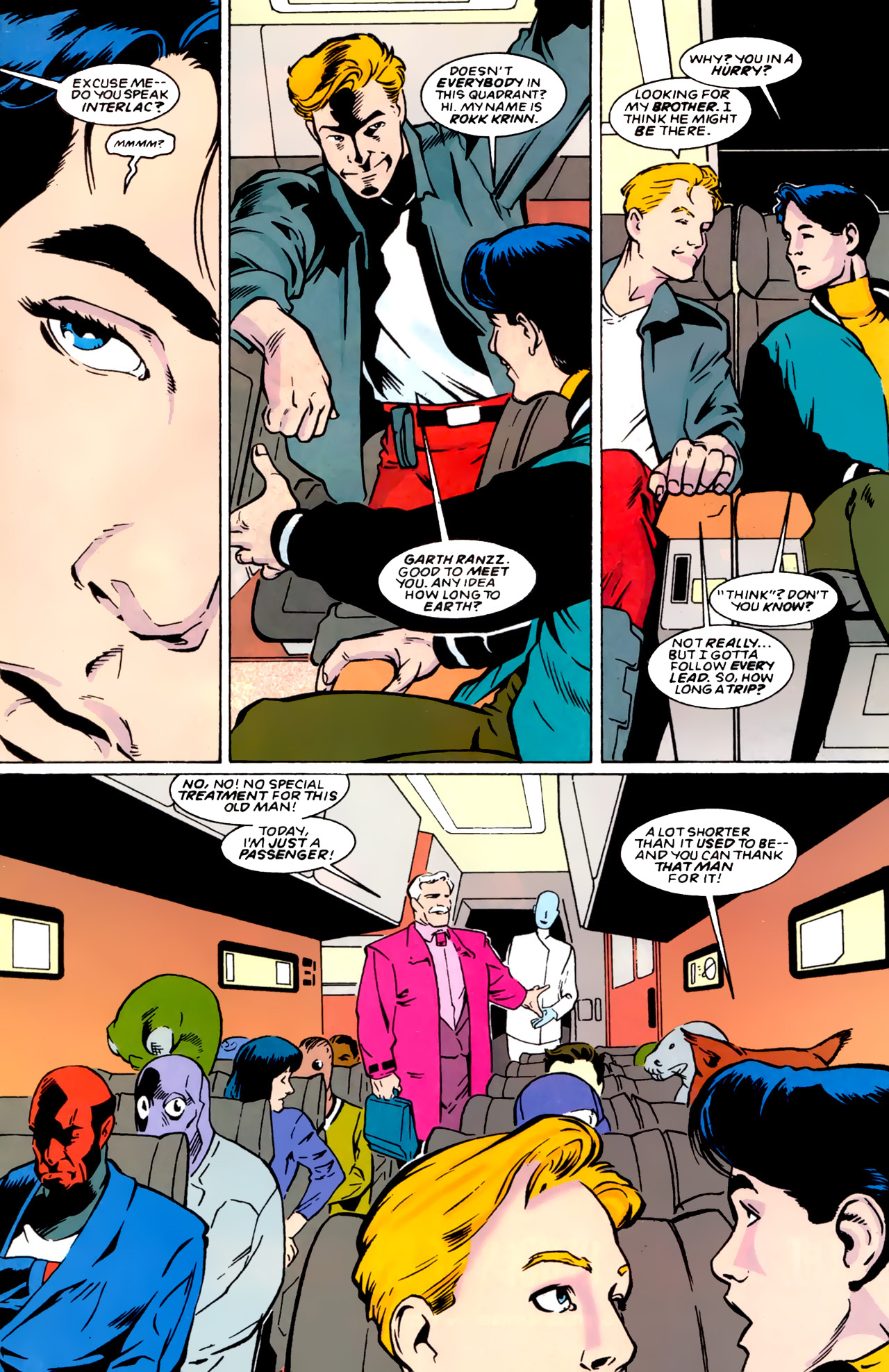 Legion of Super-Heroes (1989) 0 Page 8