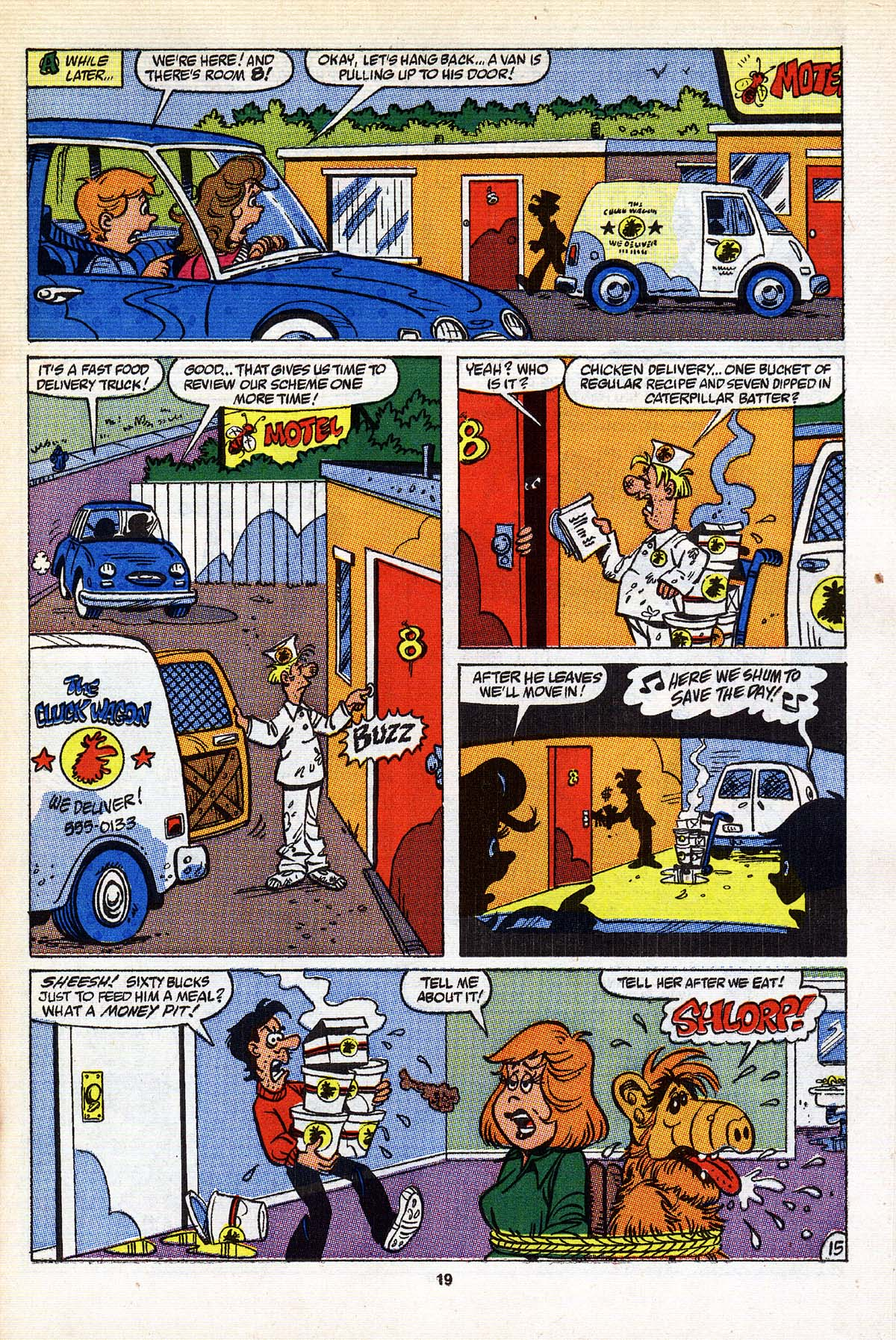 Read online ALF comic -  Issue #25 - 16