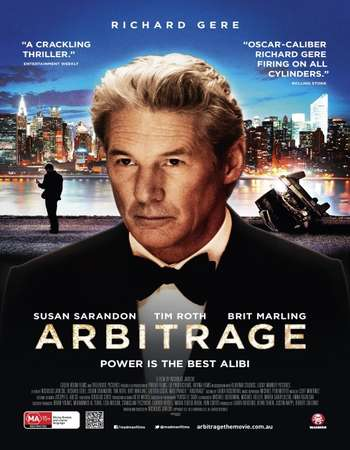 Poster Of Arbitrage 2012 Hindi Dual Audio 450MB BluRay 720p HEVC Free Download Watch Online downloadhub.in