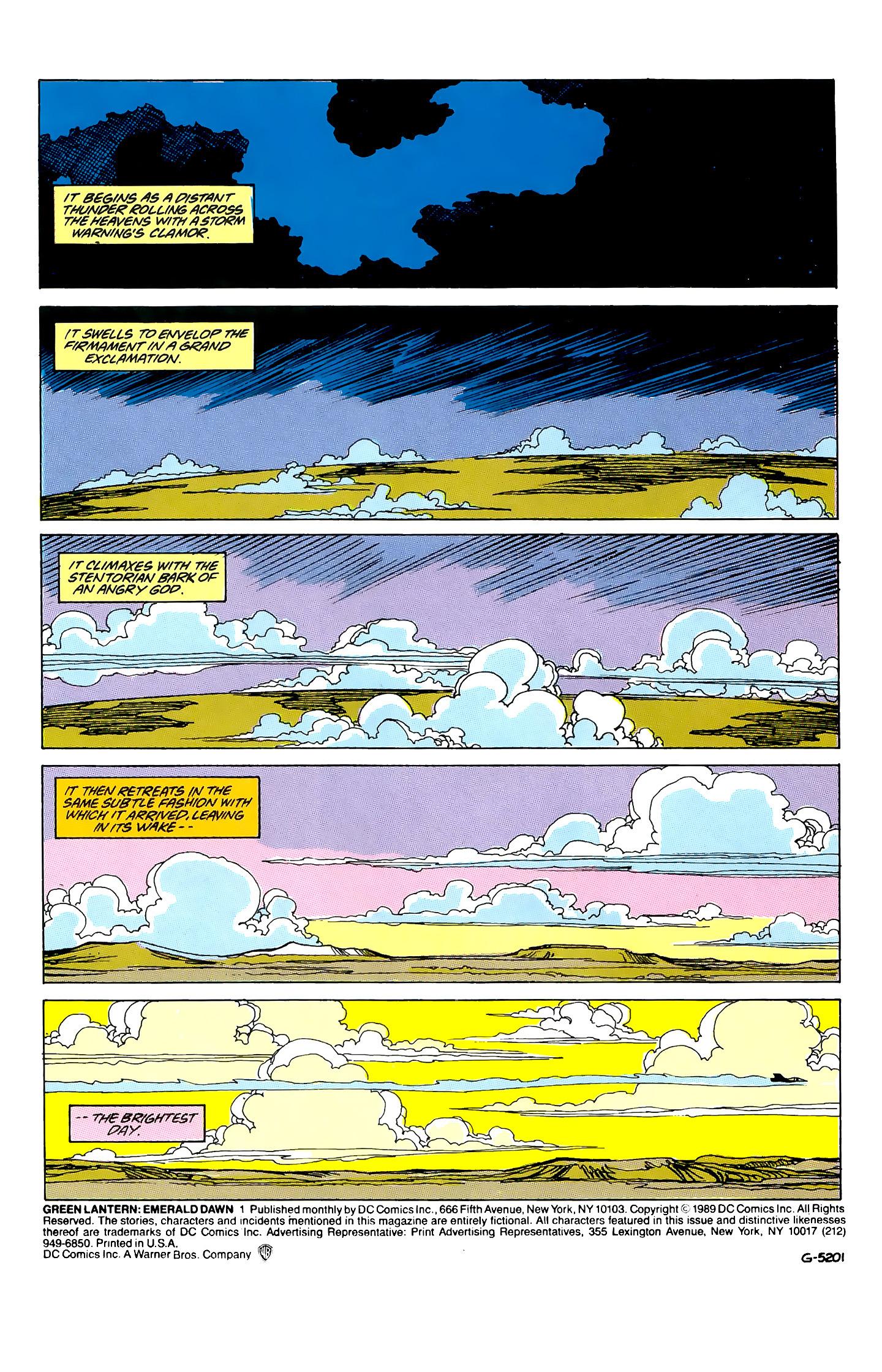 Green Lantern: Emerald Dawn 1 Page 2