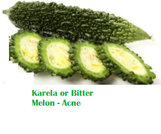 Health Benefits Of Karela or Bitter Melon - Acne