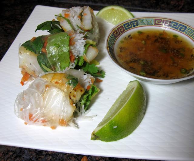 Vietnamese Summer Rolls – Gỏi Cuốn