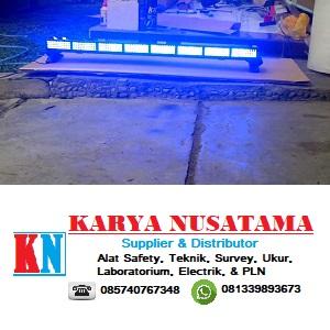Jual Lampu Rotary LED Kotak TBD 5000 12V Biru Termurah di Balikpapan