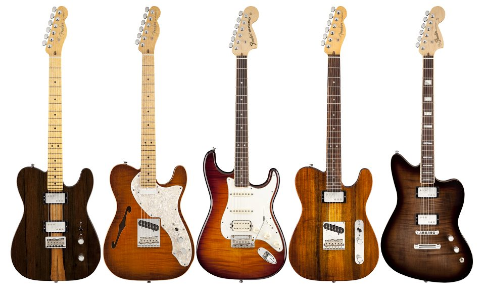 海國樂器 【如何挑選一把屬於你的 Fender 電吉他 】 三 適合樂風