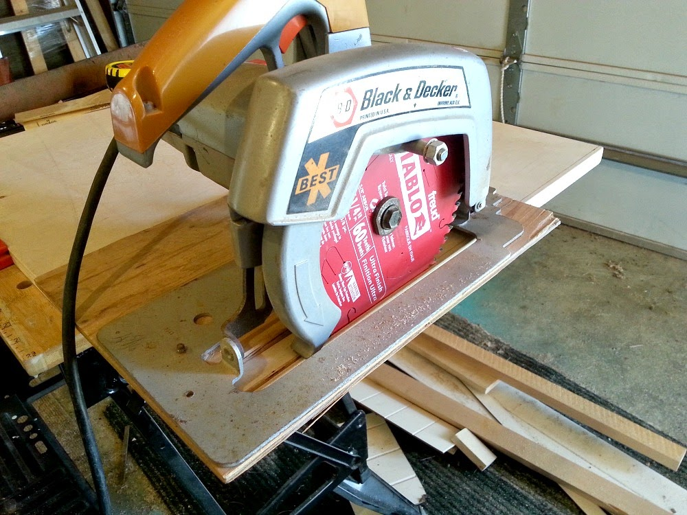 How to Use a Circular Saw Instead of a Table Saw