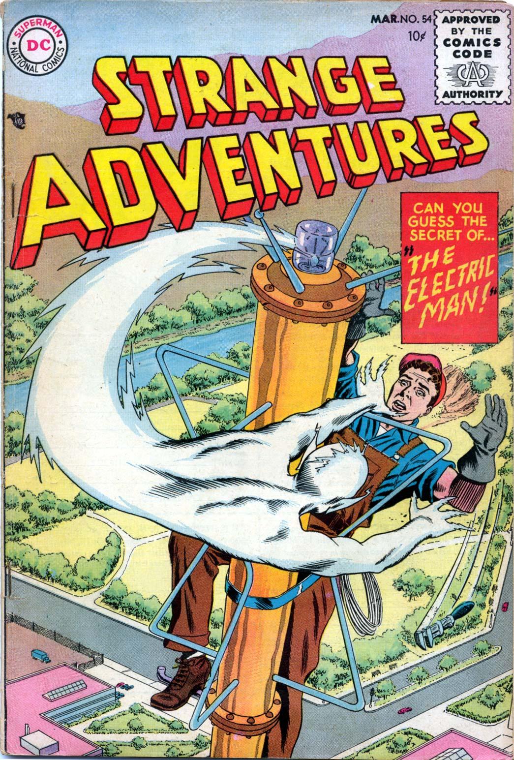 Strange Adventures (1950) issue 54 - Page 1