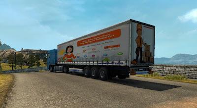 Trailer Indonesia Logistik v2.0 JNE
