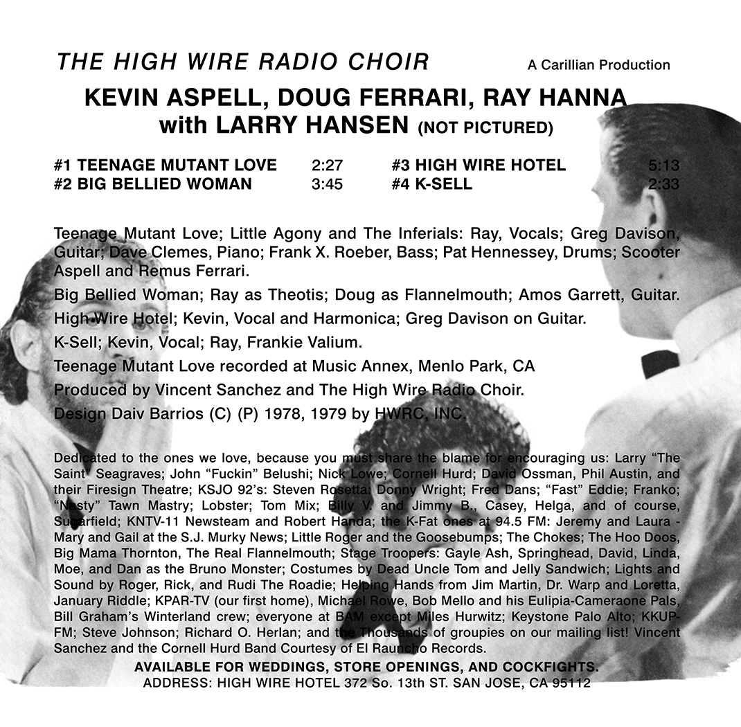 Fuji Puzzle Box: High Wire Radio Choir