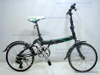 1 Sepeda Lipat CHEVROLET Suspension 20 Inci