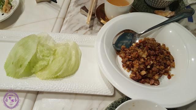 【生菜片鴨鬆 – Minced Duck with Lettuce】