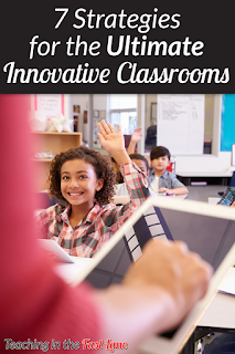 Are you looking for ways to spice up your classroom routine? Are you ready to try something new? Then this post is sure to give you the inspiration to make your classroom a more innovative, student-centered space.