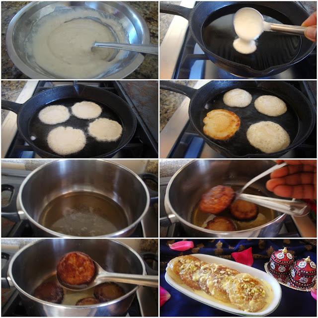 images of Malpua Recipe / Malpua Rabdi Recipe /  Indian Pancake Dessert / Malpoa Recipe - Holi Special