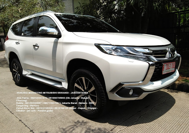 all new pajero dakar putih 2018