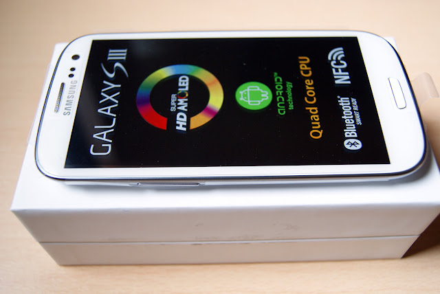 Samsung Galaxy S3 SIII blanco Marble White