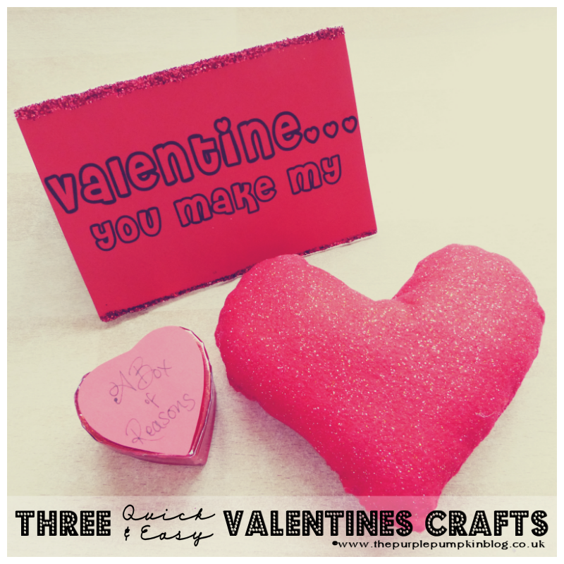 3 Quick & Easy #Valentines #Crafts [Bostik Craft Club]