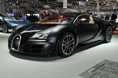 Les voitures les plus rapides du monde - Bugatti Veyron Super Sport (268 Mph)