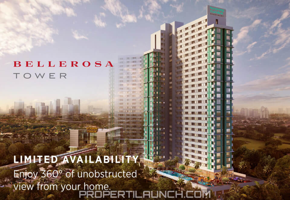 Bellerosa Tower Serpong Garden Apartment