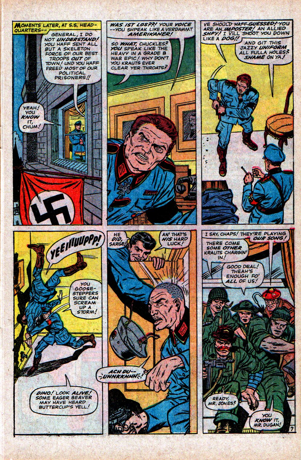 Read online Sgt. Fury comic -  Issue #21 - 11