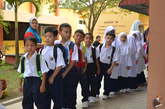 Tips Buat Anak Anda Seronok Sekolah