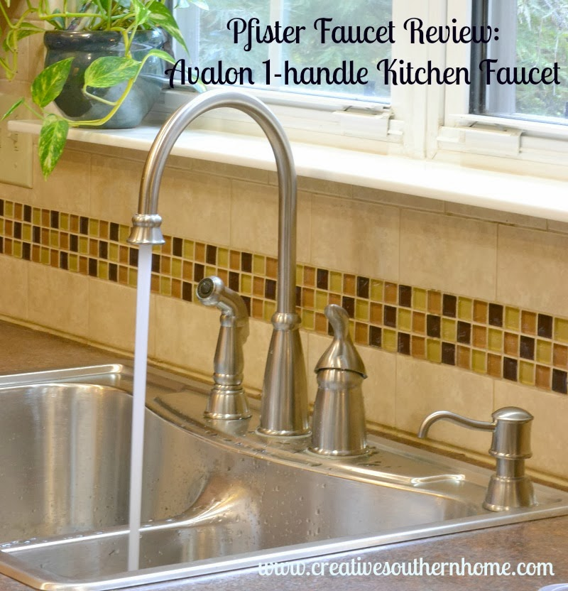 Fine Pfister Faucet Review The Avalon 1 Handle Kitchen Faucet Home Interior And Landscaping Oversignezvosmurscom