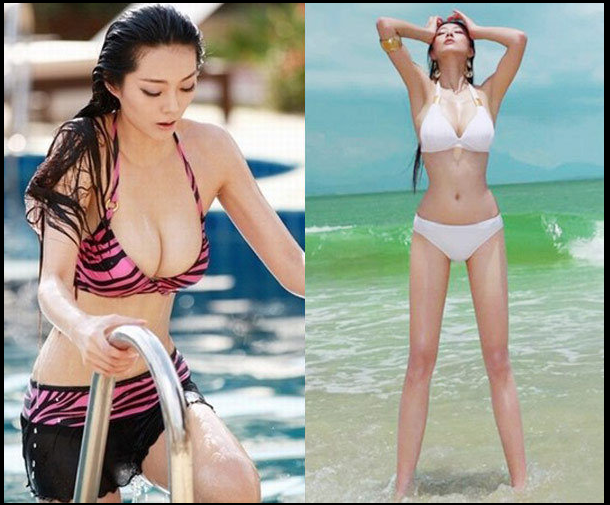 Who says Asia without legs?: Inventory of the best Chinese supermodel ...