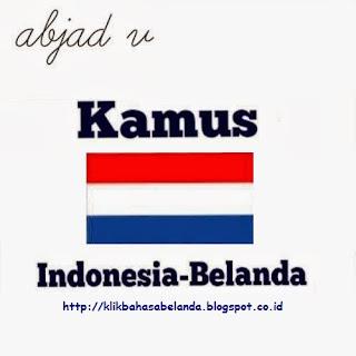 Abjad V, Kamus Indonesia - Belanda