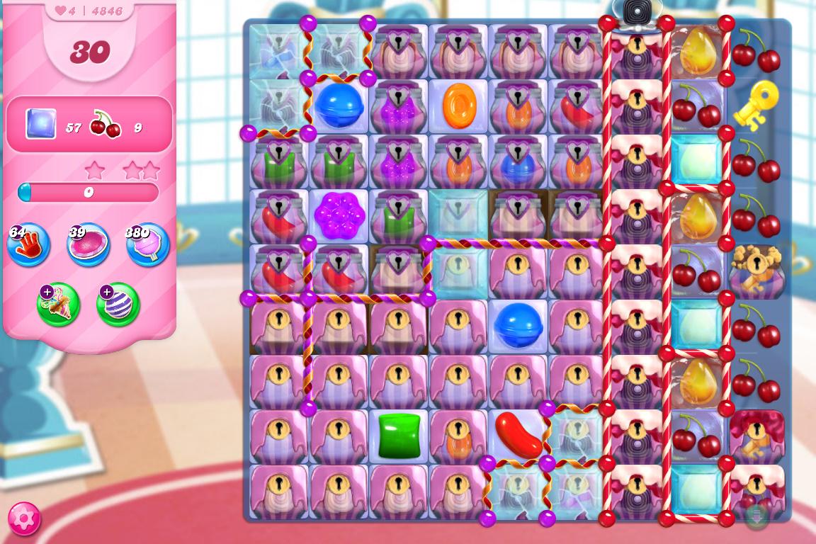 Candy Crush Saga level 4846