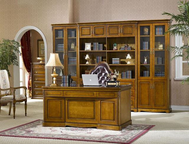 best buy solid wood executive home office furniture sets AZ for sale