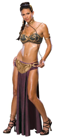 Star Wars Princess Leia Steampunk Slave Leia costume