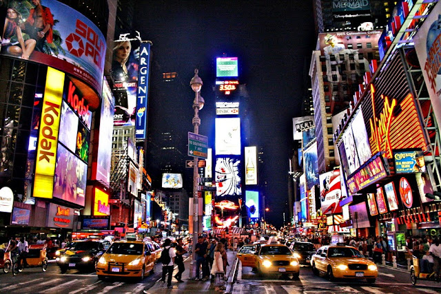 Times Square, Manhattan in New York