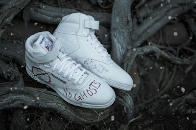 BAIT Exclusive Stranger Things x Ghostbusters Ex-O-Fit Clean Hi Reebok Sneakers