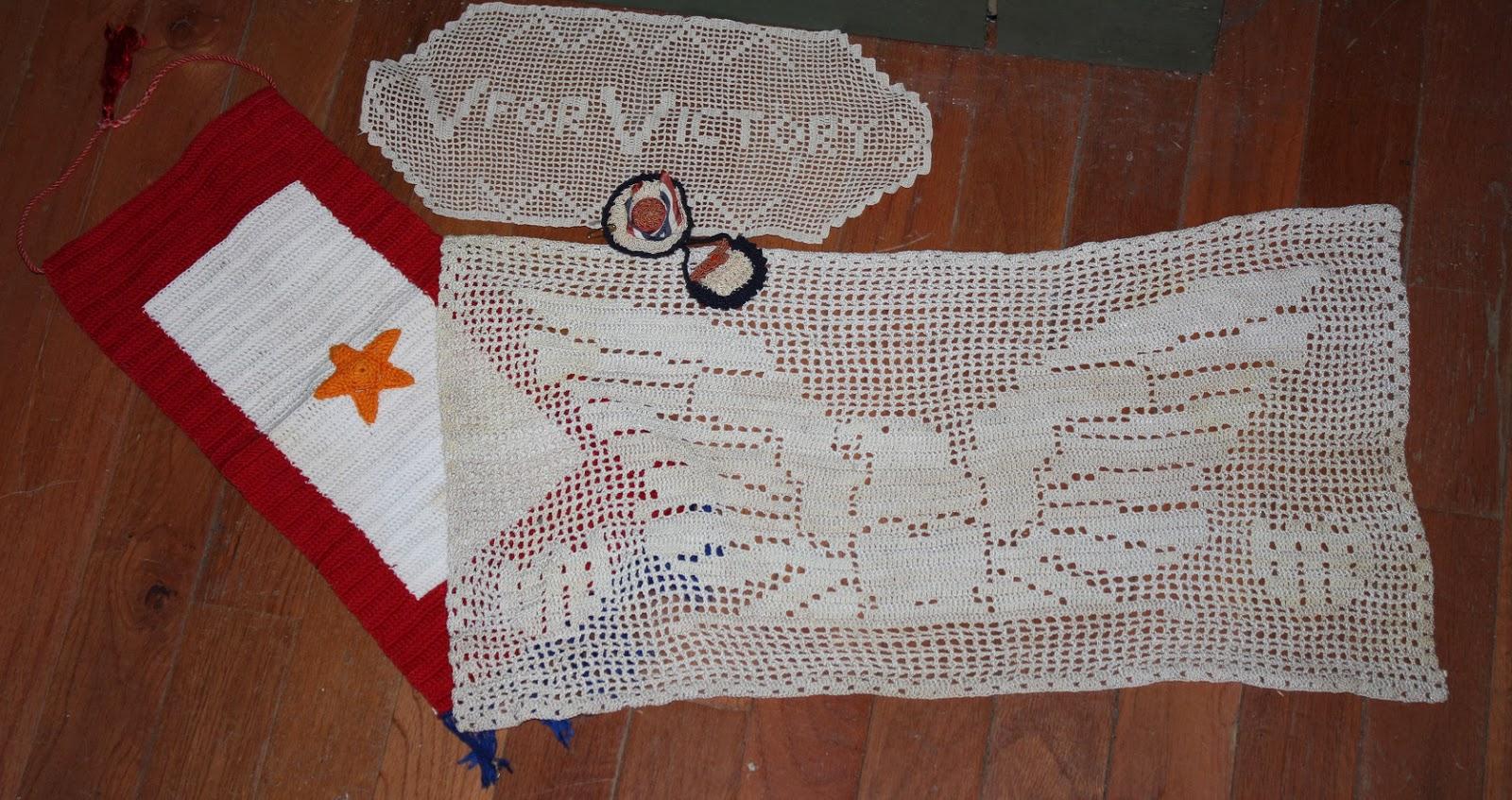 abc0038c895c Guest Blogger Part 2  Karen Ballard - World War II Crocheting with ...