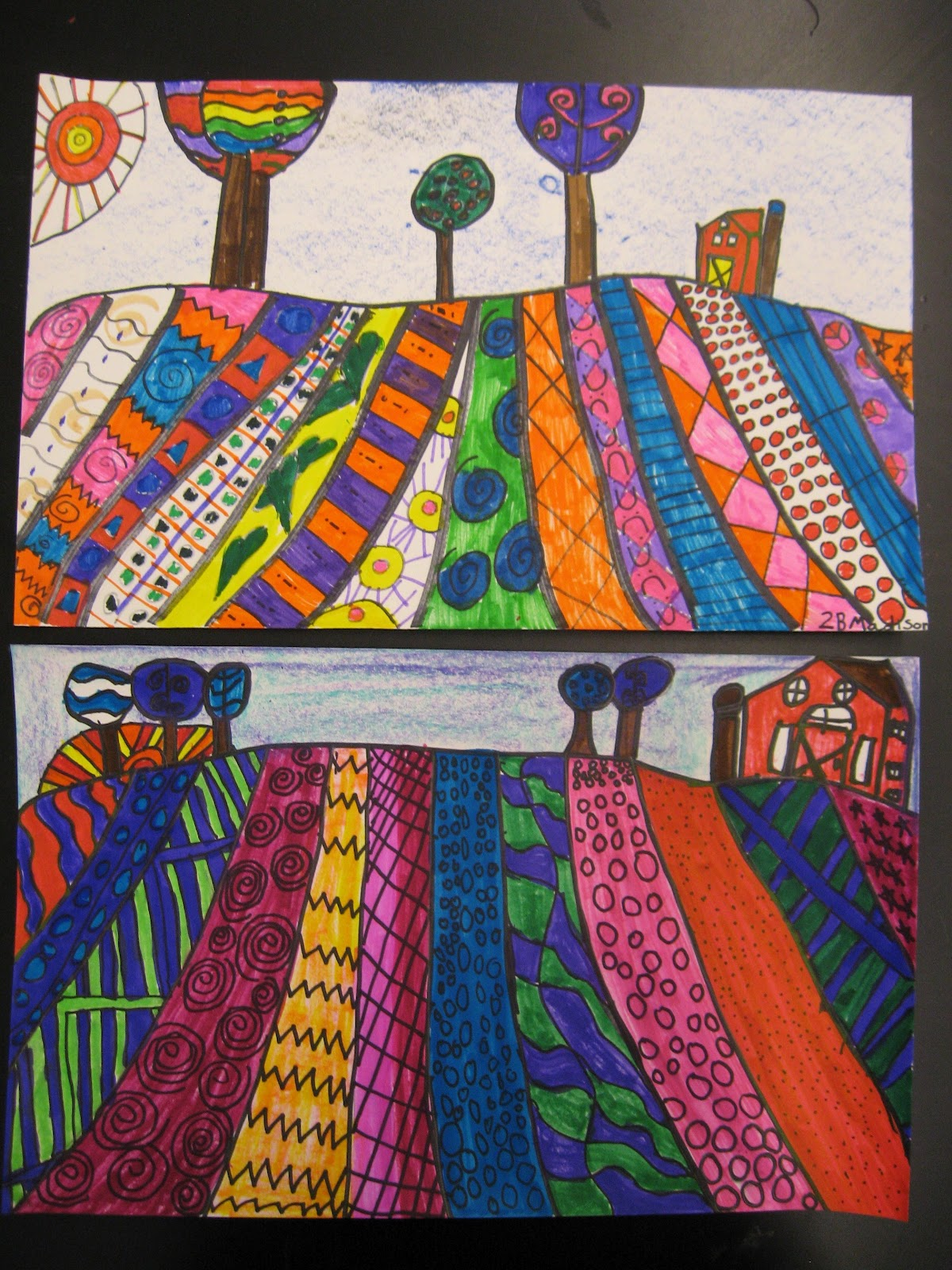 Jamestown Elementary Art Blog 2nd Grade Heather Galler