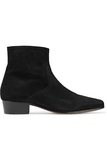 IRO Aisling Suede Ankle Boots