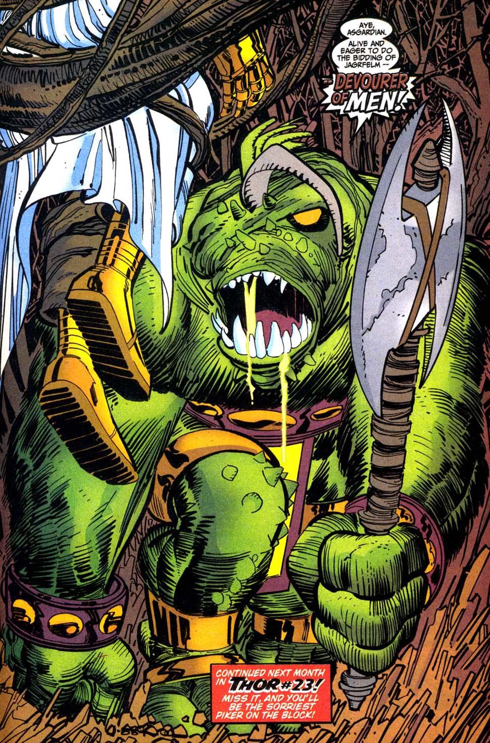 Thor (1998) Issue #22 #23 - English 21