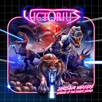 "Victorius - ""Lazer Tooth Tiger"" (lyric video) from the album ""Dinosaur Warfare - Legend of the Power Saurus"""