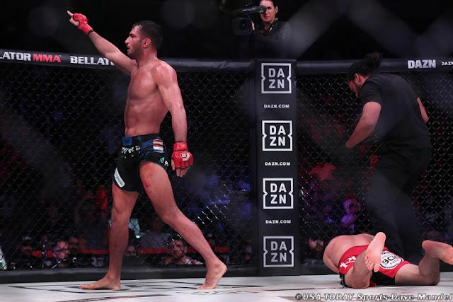 Gegard Mousasi KO's Rory MacDonald In The Second,