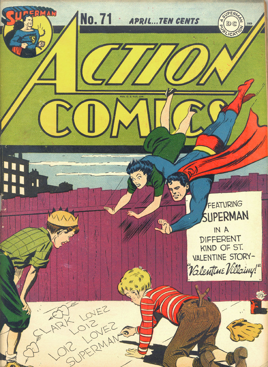 Read online Action Comics (1938) comic -  Issue #71 - 1
