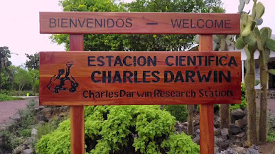 The Charles Darwin Research Station in Galapagos