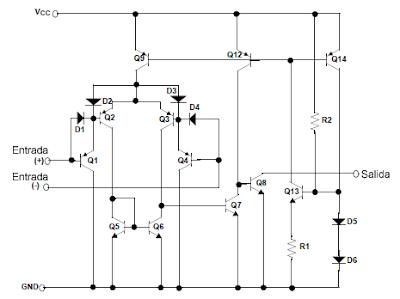 Diagrama esquemático LMXXX.