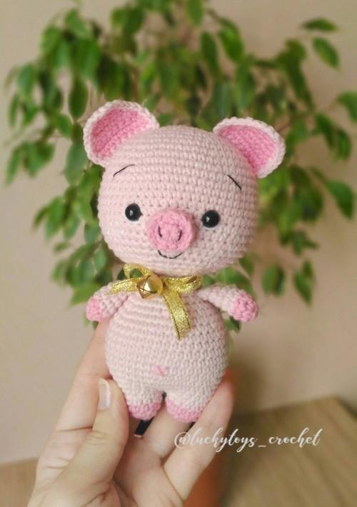 Amigurumi Sweet Pig - Free Pattern