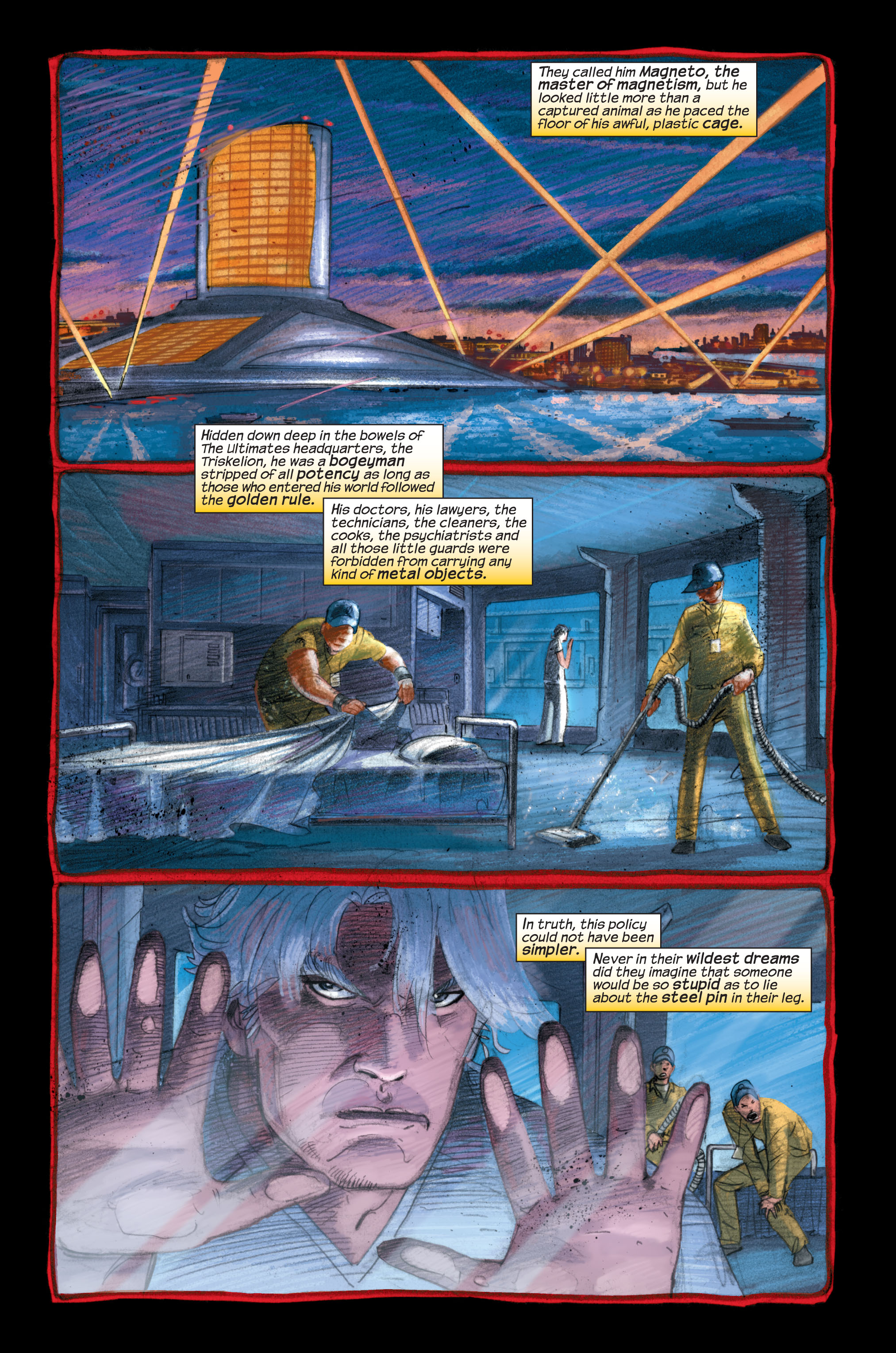 Read online Ultimate X-Men comic -  Issue #33 - 3