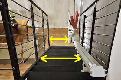 escape monte escalier