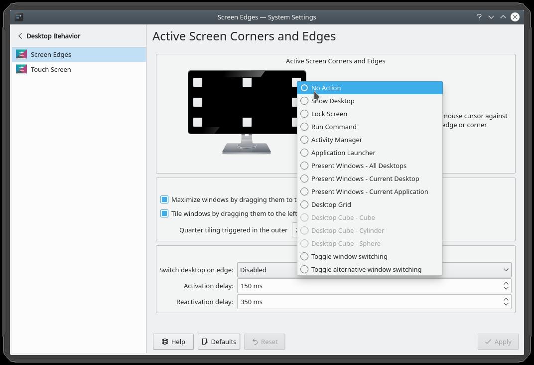 KDE Plasma Desktop + Kvantum + Movaje-CT Themes