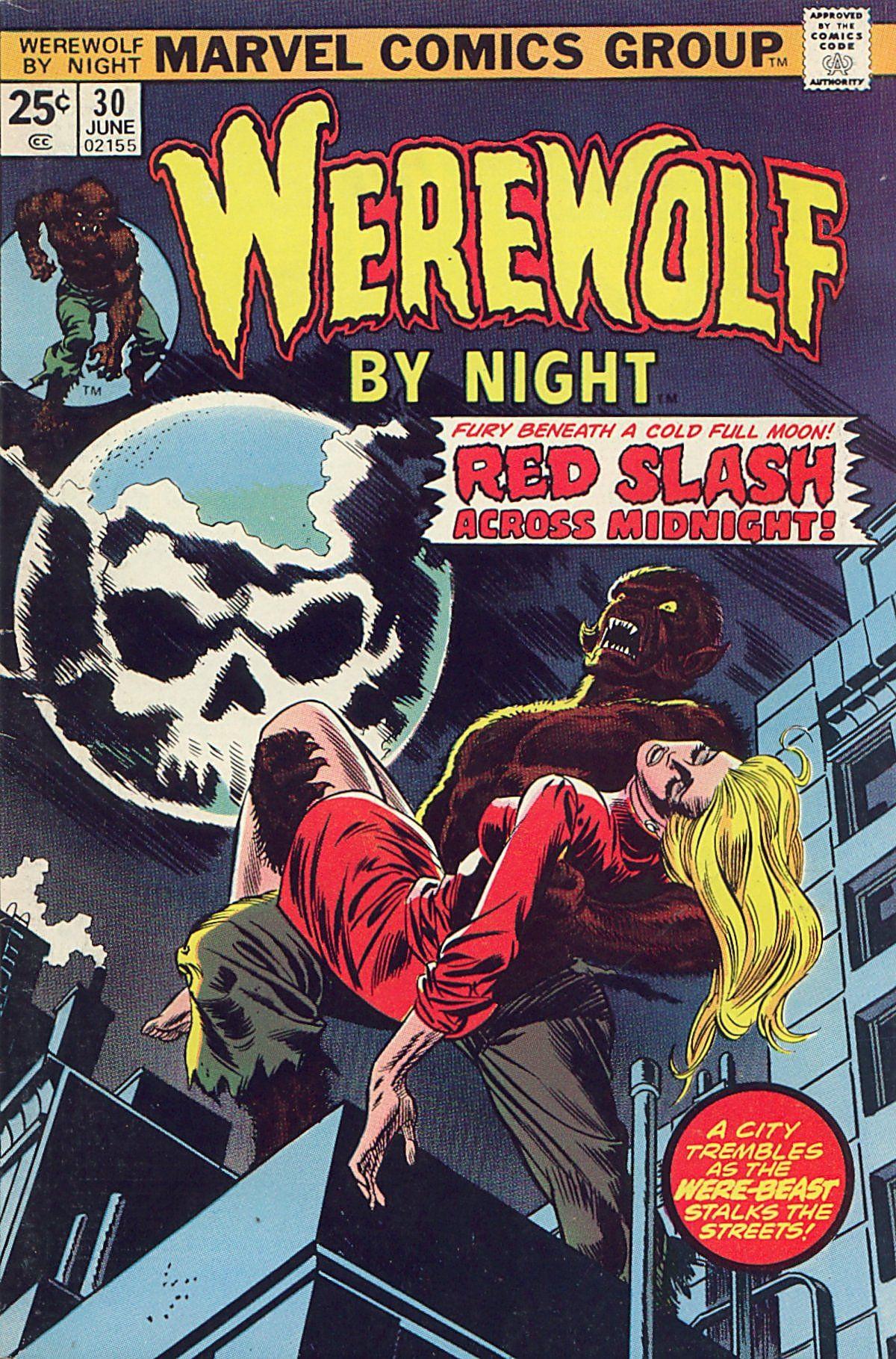 Werewolf by Night (1972) issue 30 - Page 1