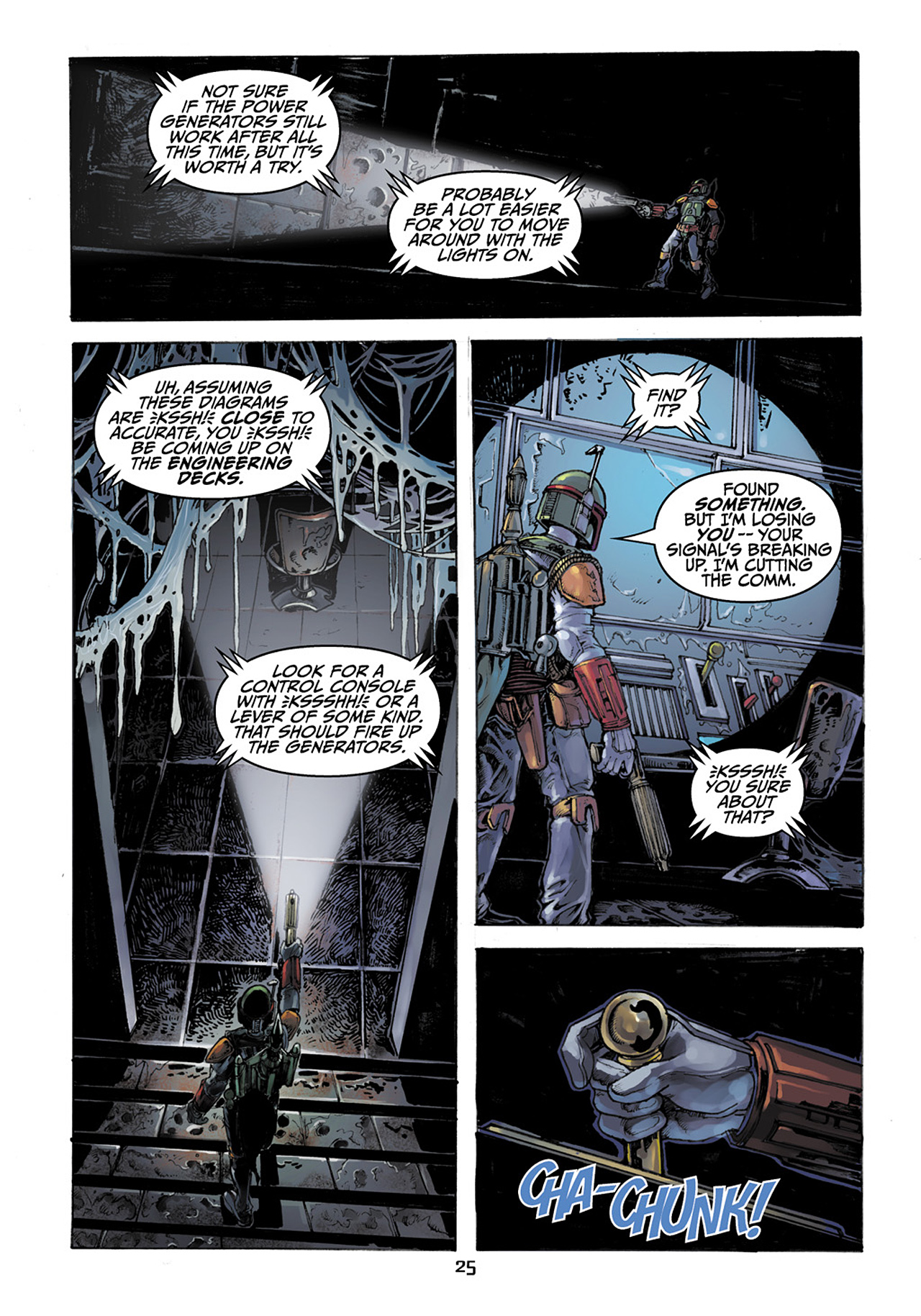 Read online Star Wars Adventures comic -  Issue # Issue Boba Fett and the Ship of Fear - 26