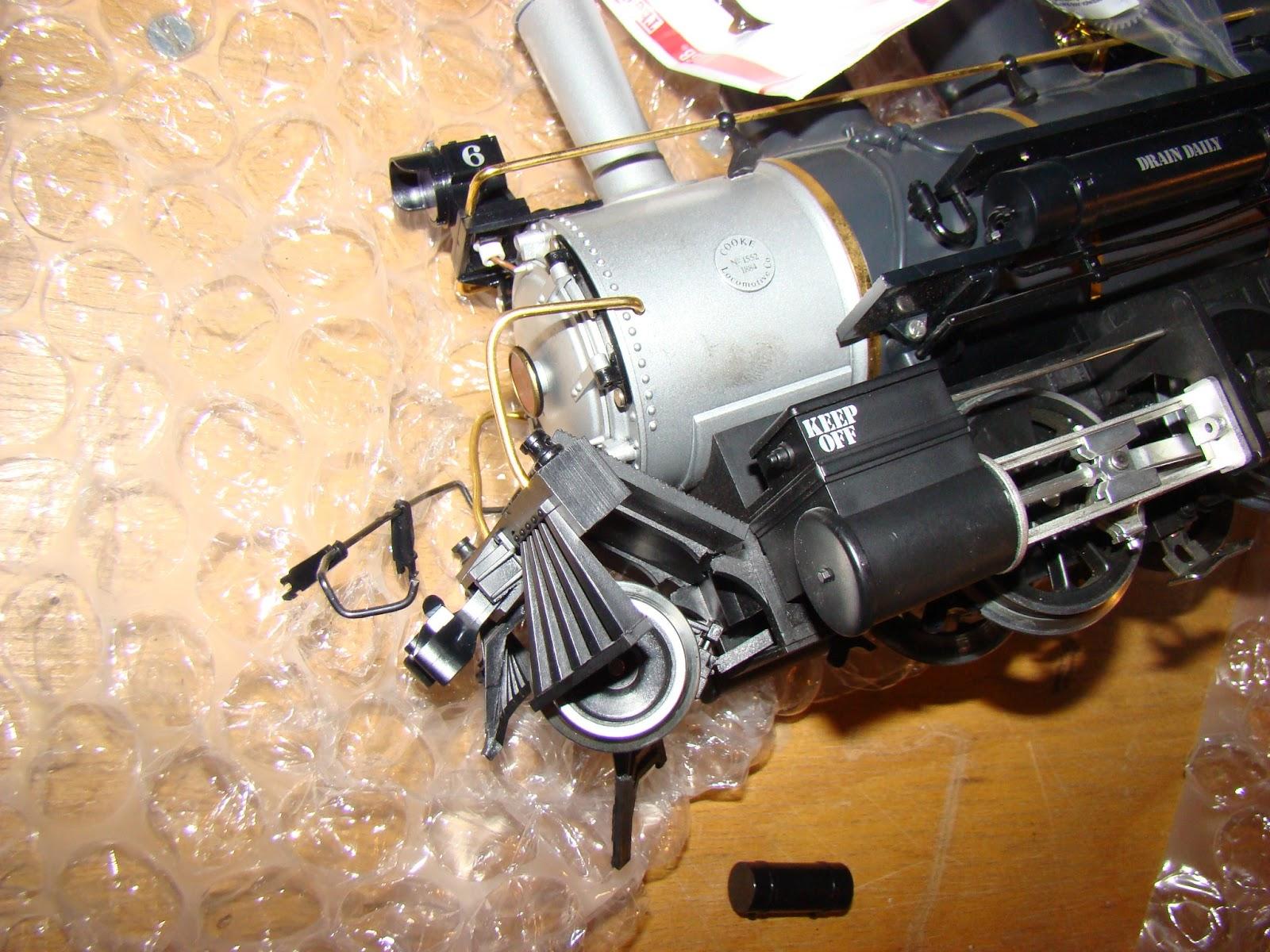 hattons.co.uk - LGB 2217D-SAS Steam Locomotive with Tender ...  |Lgb Engine Cow
