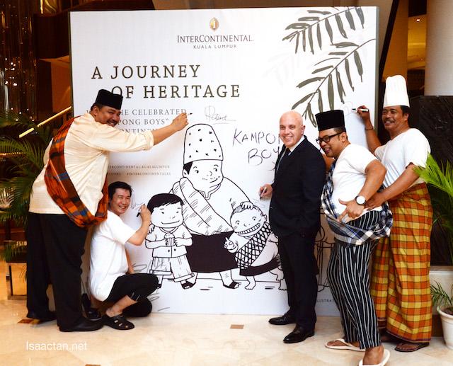 "Journey Of Heritage Ramadan Buffet With InterContinental Kuala Lumpur's ""Kampong Boys"""