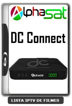 Alphasat DC Connect Nova Atualização VOD PREMIUM, Otimização 63w ON, Adição 107w ON, Adição 61w ON  V12.01.09.S75 - 11-01-2020